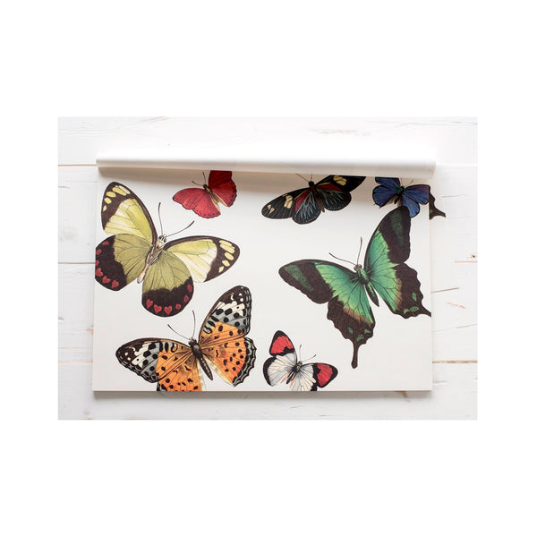 Paper Placemat Set - Butterflies