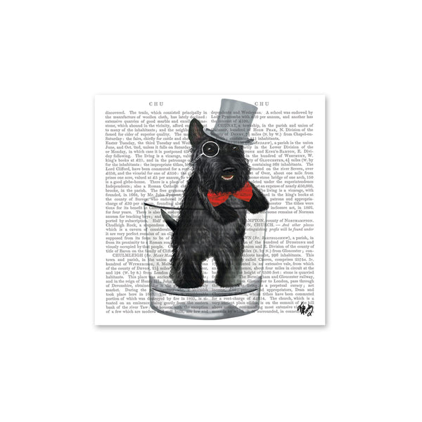 Lord Andrew the Scottie Beverage Napkins