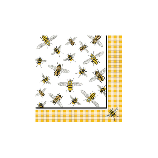 Honey Bees Beverage Napkins