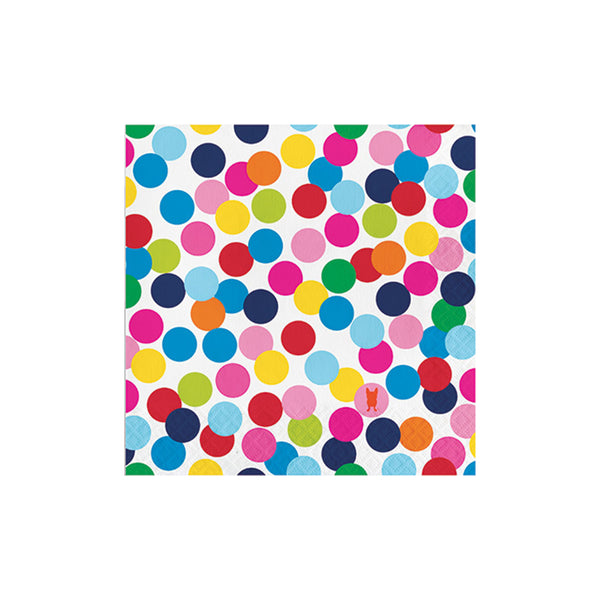 Birthday Dots Luncheon Napkins