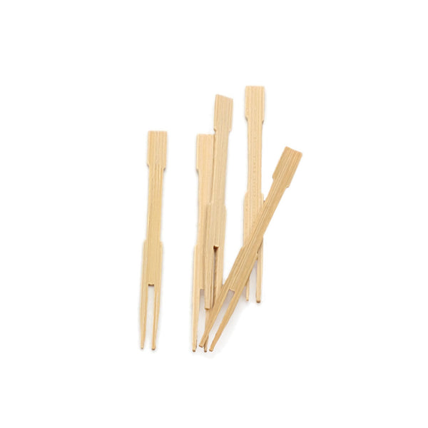 Bamboo Appetizer Forks Set of 72