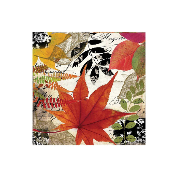 Autumn Collage Luncheon Napkins