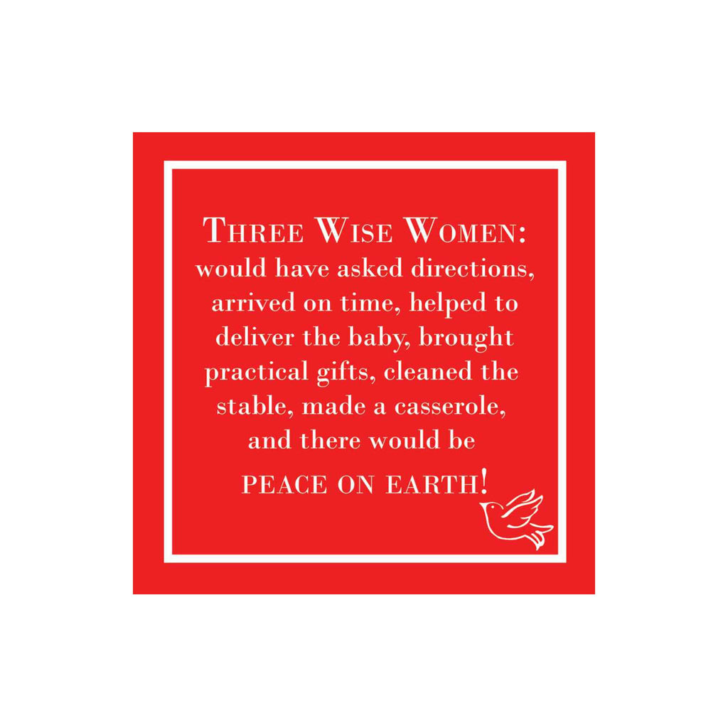 Three Wise Women Beverage Napkins