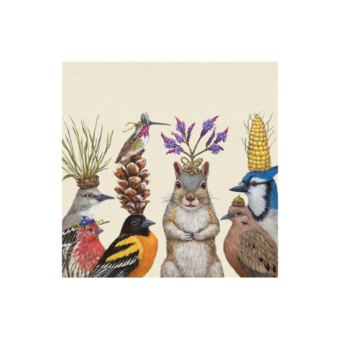 Vicki Sawyer Beverage Napkins - Party Snacks