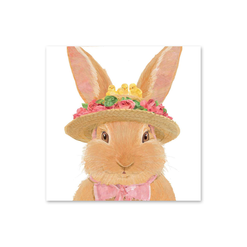 Easter Luncheon Napkins - Amelie Bunny