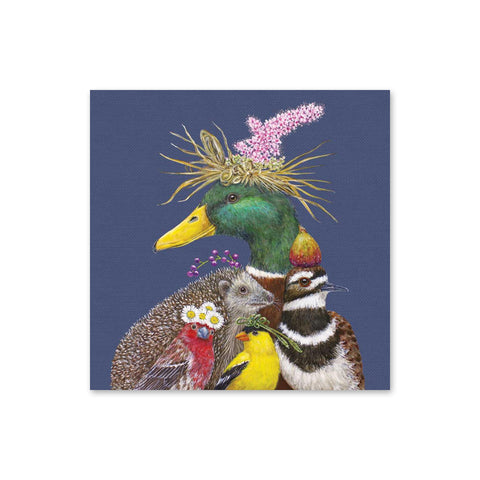 Vicki Sawyer Beverage Napkins - There's Always a Showboat