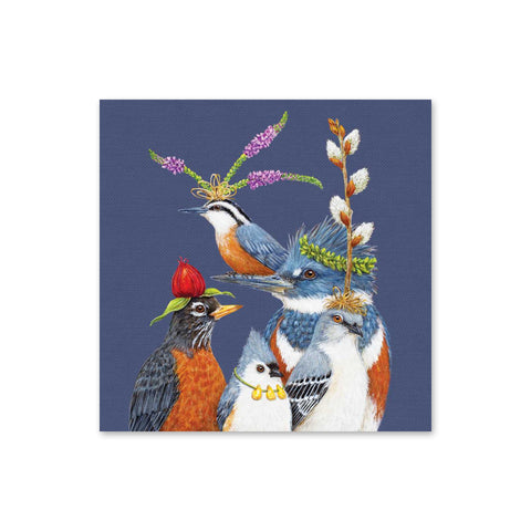 Vicki Sawyer Beverage Napkins - Party Friends