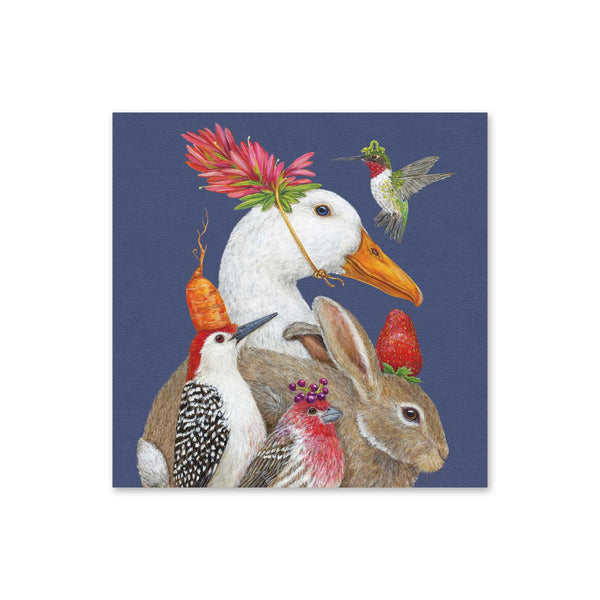 Vicki Sawyer Beverage Napkins - A Few Good Friends