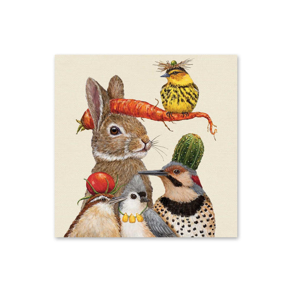 Vicki Sawyer Beverage Napkins - Harvest Party