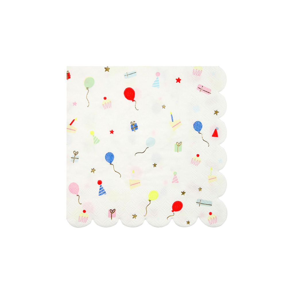 Party Icons Beverage Napkins