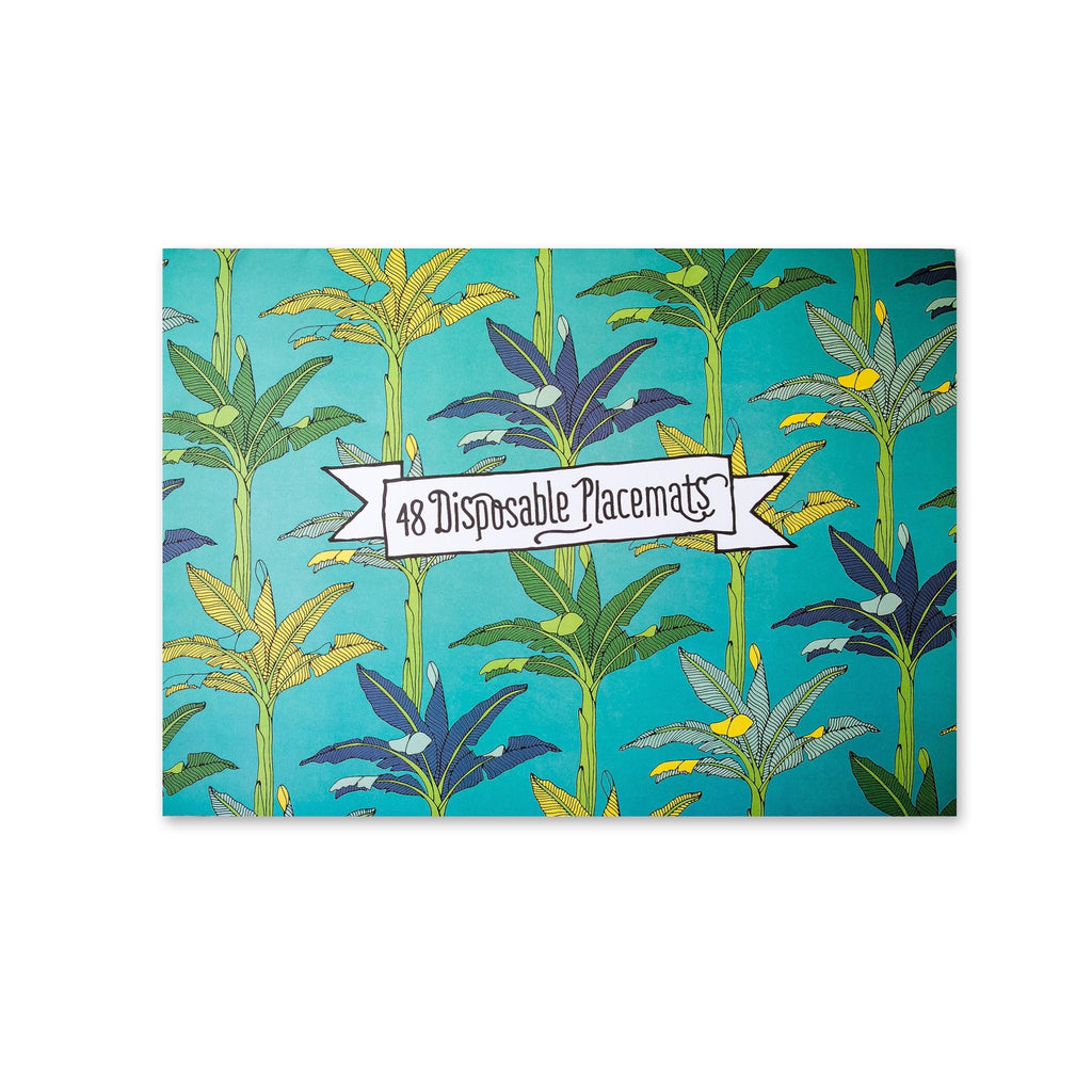 South African Paper Placemat Set - Jungle Fever
