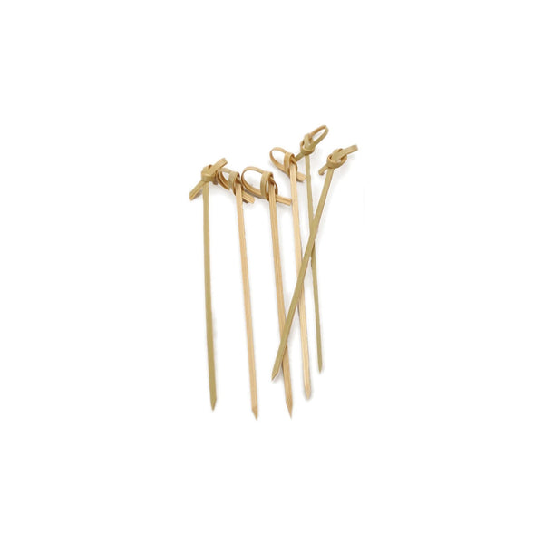Bamboo Knot Appetizer Picks Set