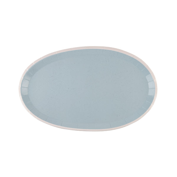 Sophistiplate Farmhouse Serving Platter - Carolina Blue