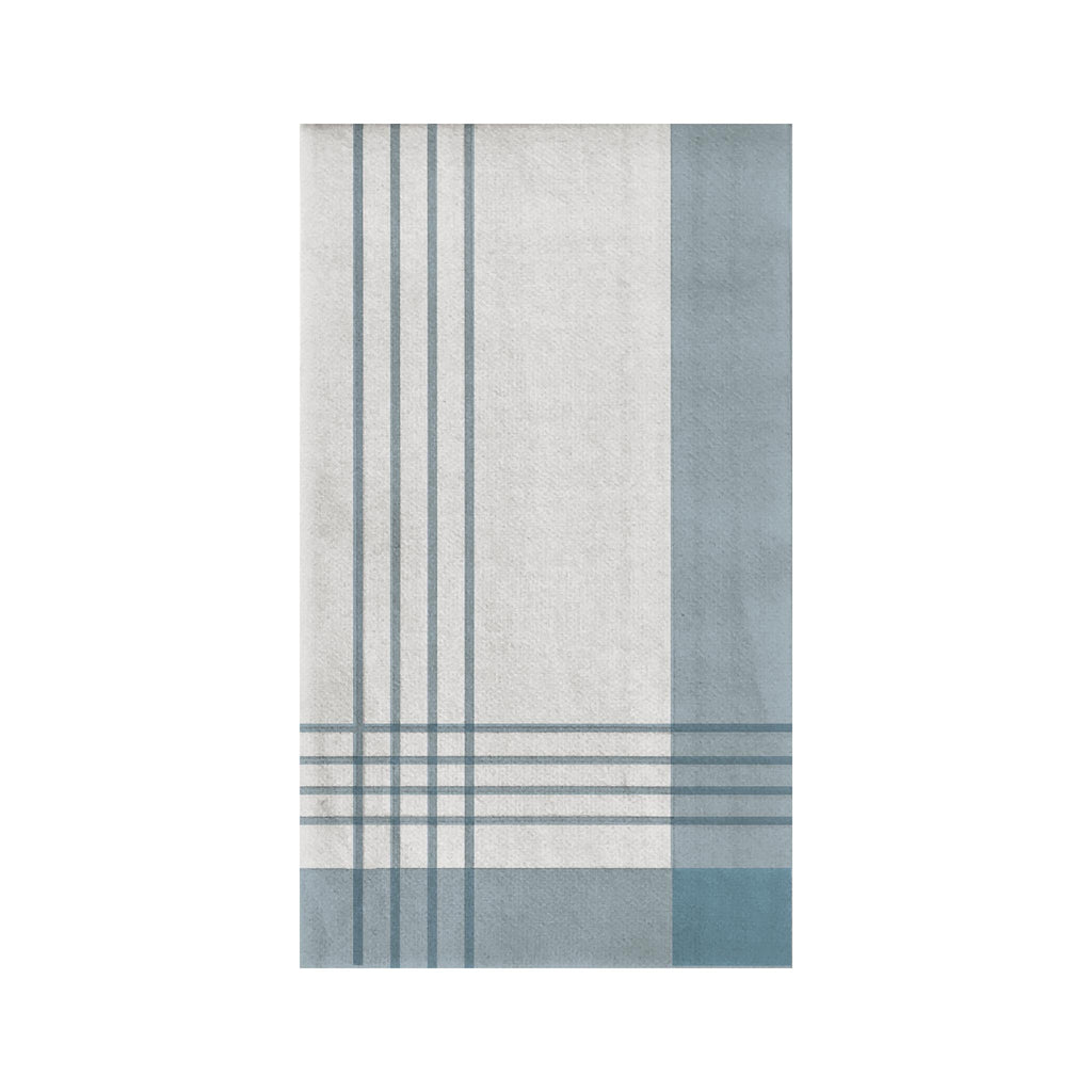 Sophistiplate Linen-like Guest Towel - Carolina Blue