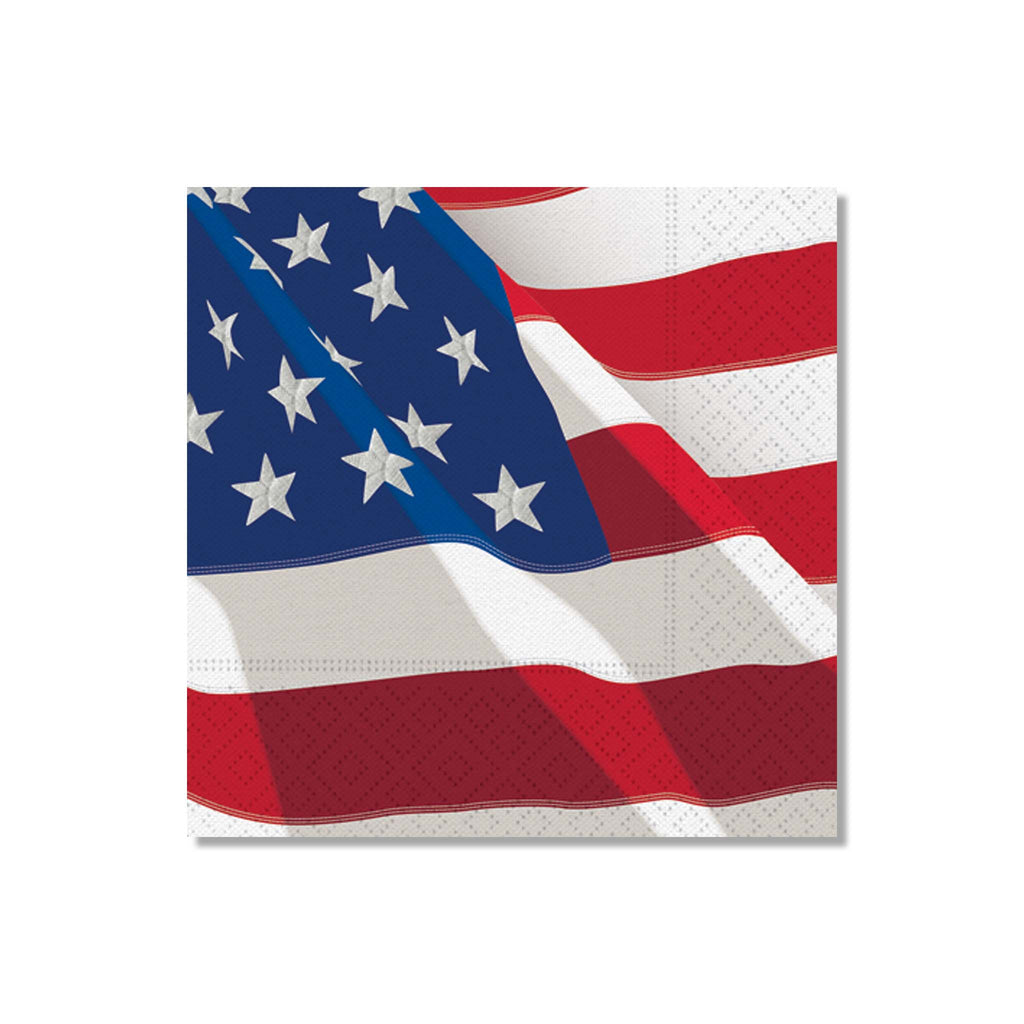 Freedom Flag Beverage Napkins