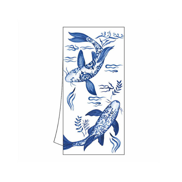 Emperor's Koi Kitchen Towel