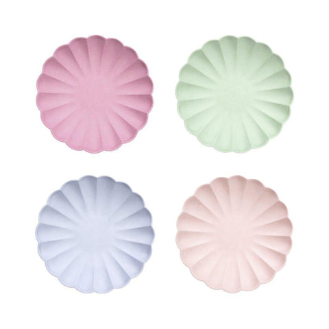 Pastel Simply Eco Plates Set of 8
