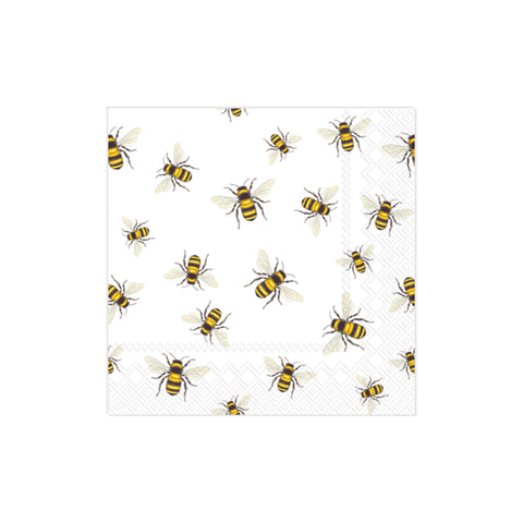 Save the Bees Beverage Napkins