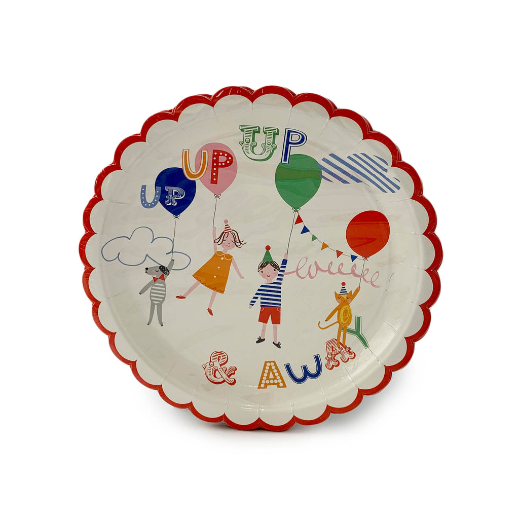 Toot Sweet Party Plates with Children