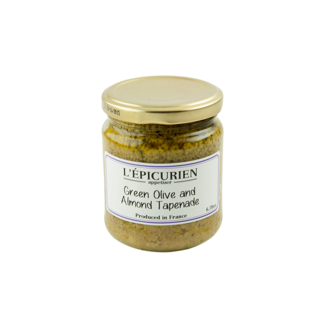 Green Olive & Almond Tapenade