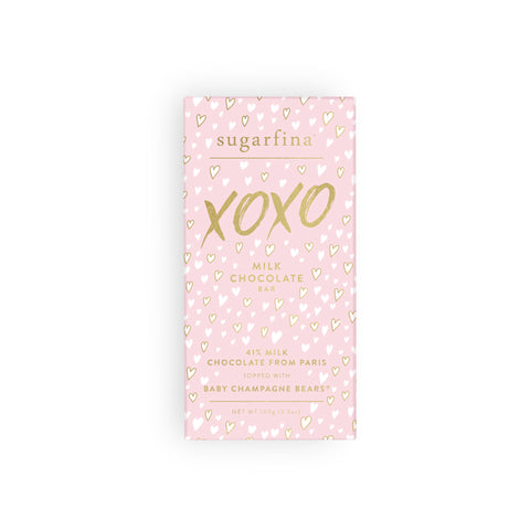 Sugarfina Milk Chocolate Champagne Bears Bar - XOXO