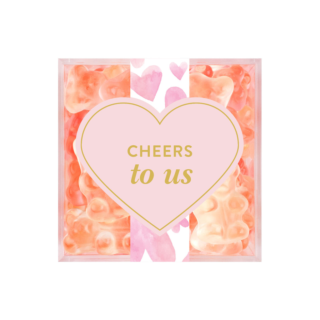 Sugarfina Cheers to Us Champagne Bears Cube