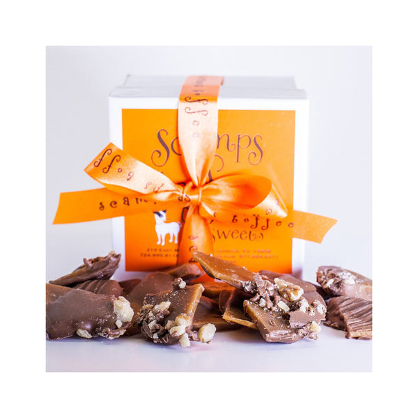 Scamps Toffee 8 oz Box - Milk Chocolate