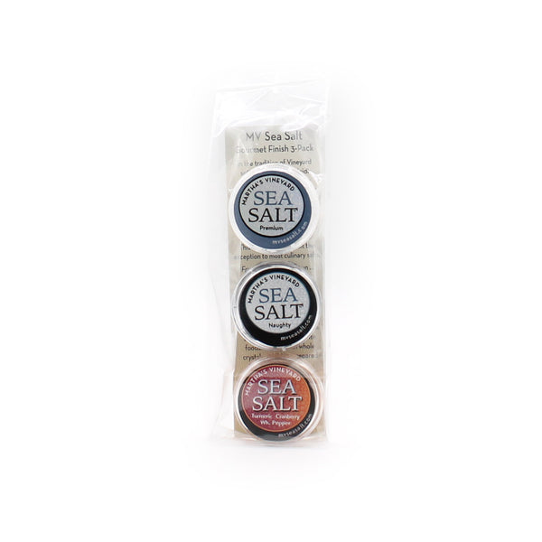 Martha's Vineyard Sea Salt Traveler Trio