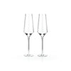 Raye Crystal Champagne Flutes Set of 2