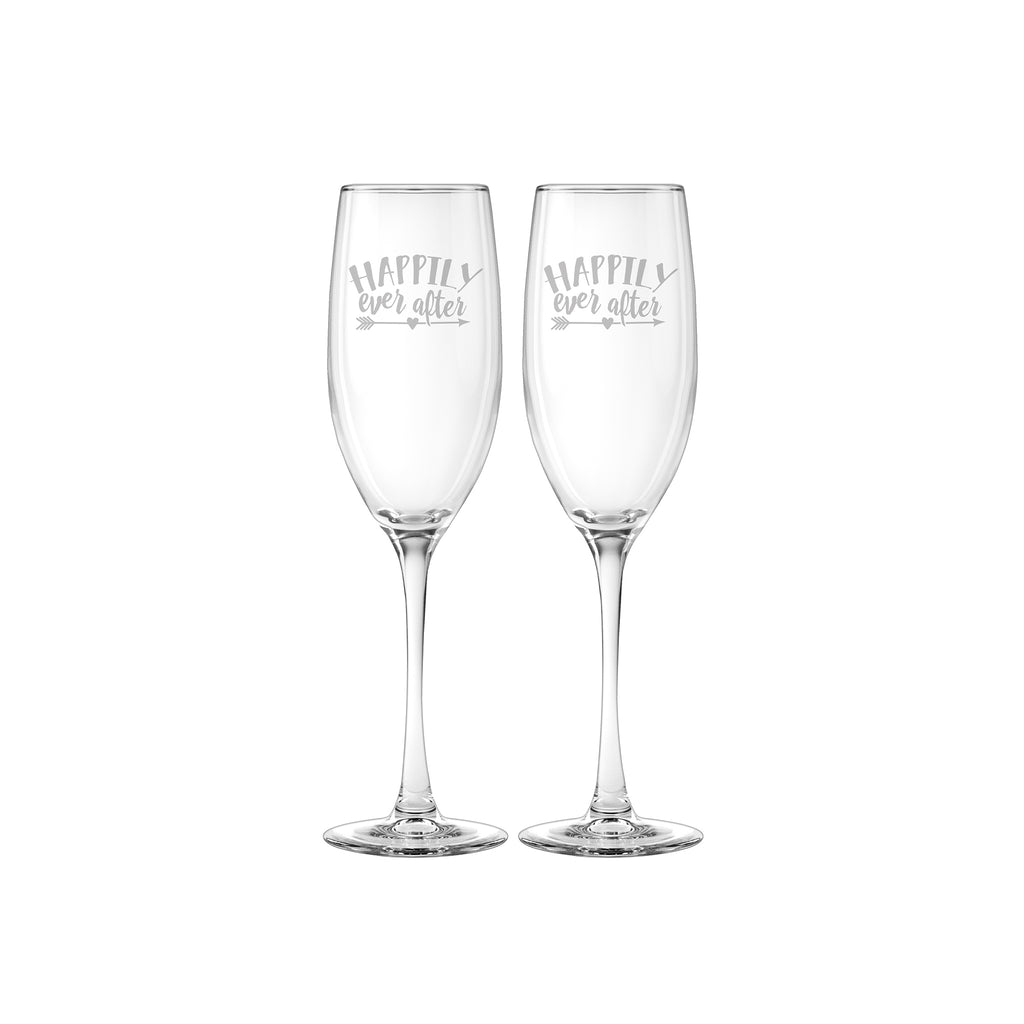 Happily Ever After Flute Set of 2