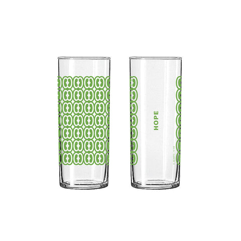 Andinkra Tall Skinny Glass - Hope