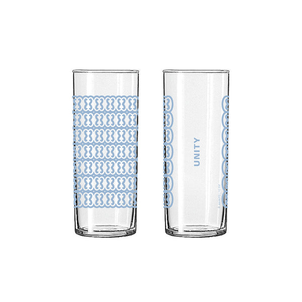 Andinkra Tall Skinny Glass - Unity