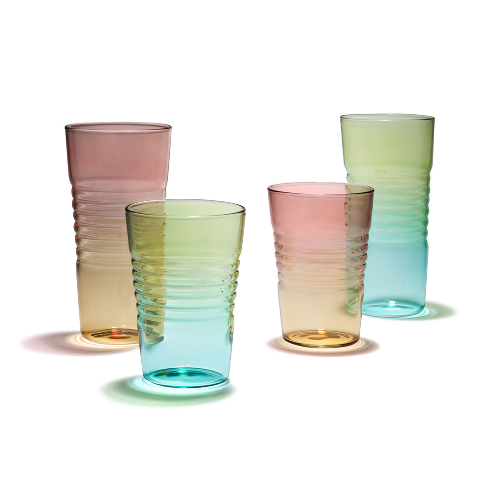 MoMA Ombre Glasses - Juice