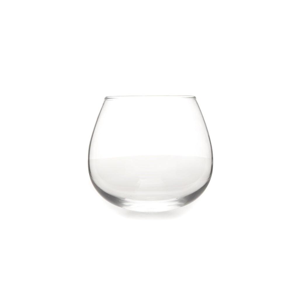 Japanese Roly Poly Stemless Wine Glass