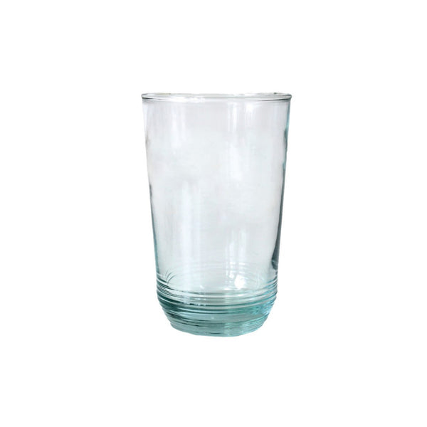 Recycled Glass Ripple Tumbler - Tall