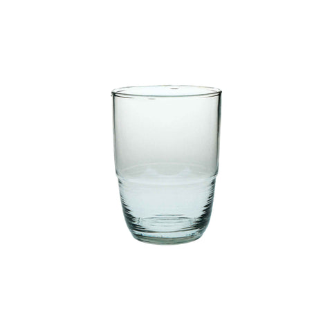 Recycled Glass Ripple Tumbler - 8 oz