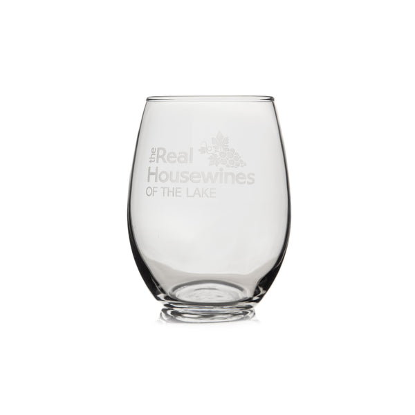 Stemless Wine Glass - The Real Housewines of The Lake