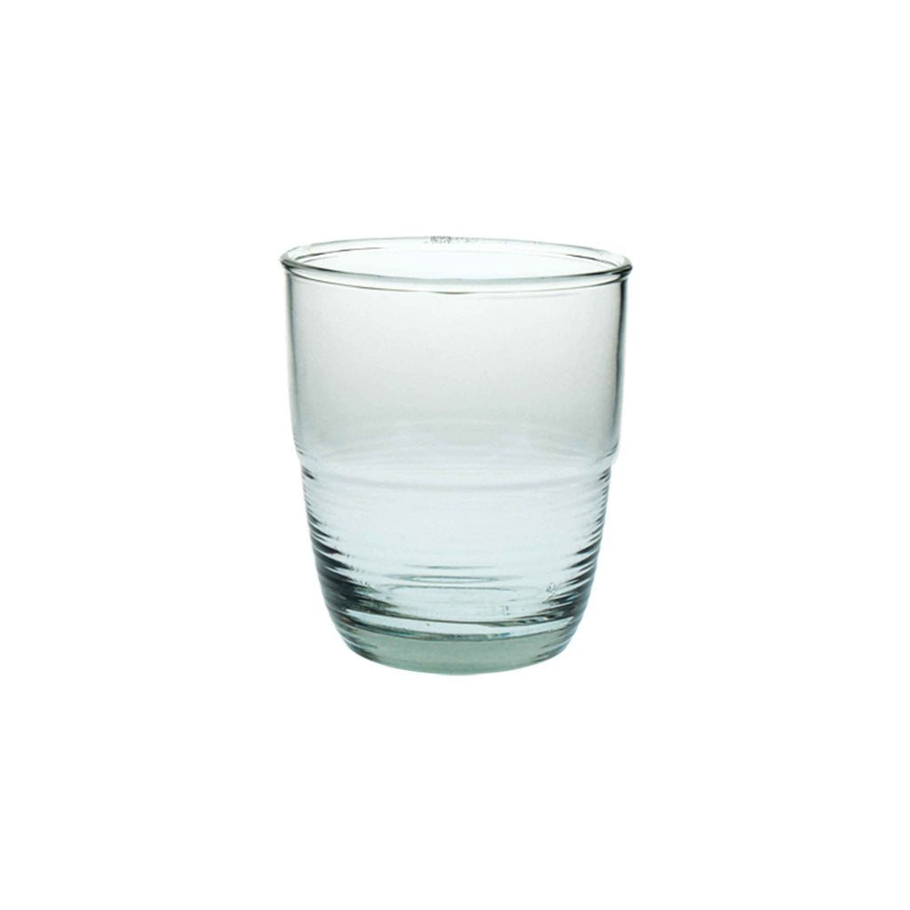 Recycled Glass Ripple Tumbler - 6 oz