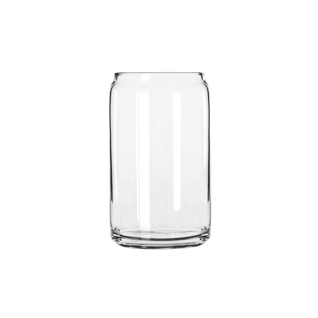 Beer Can Shaped Glass