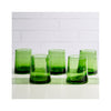 Moroccan Cone Glasses - Green
