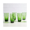 Beldi Stacking Glasses - Green