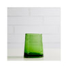 Moroccan Cone Glass - Green