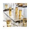 Livenza Champagne Flutes Set of 6 - in use