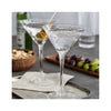 Serapha Martini Glass - in use