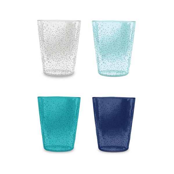 Memento Bubble Acrylic Tumblers Set of 4