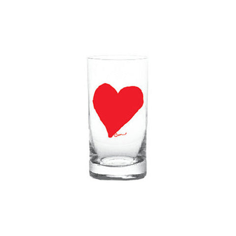 Erin Flett Highball Glasses - Heart