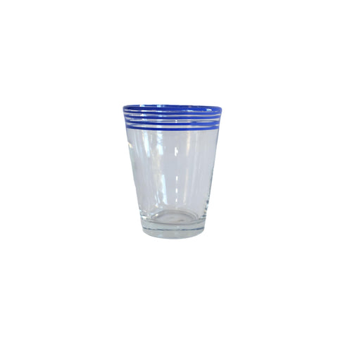 Swirl Pop Juice Glass - Navy