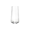 Faceted Crystal Champagne Glass Empty