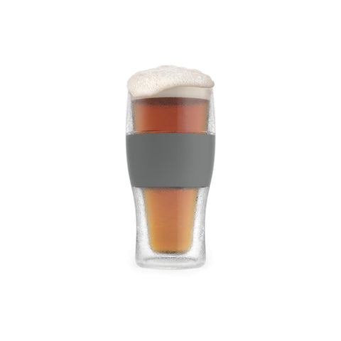 HOST FREEZE Cooling Pint Glass Filled