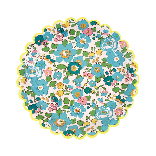 Liberty Print Betsy Green Small Plates